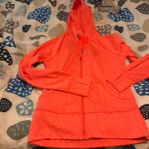 ATHLETA strength zip up hoodie size medium